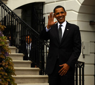 """President Obama at """"White House to Light House"""" Wounded Warrior Soldier Ride"""