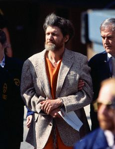 Authorities Escorting Unabomber Theodore Kaczynski