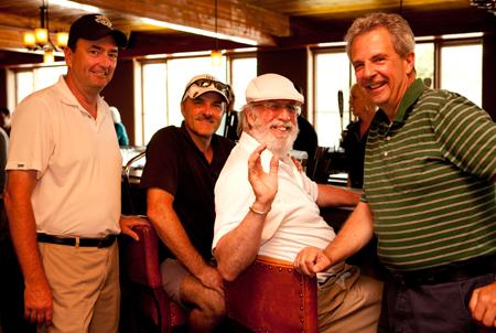 Golfers-Tom-Dalton-Randy-Palmer-Terry-Grant-and-Boots-Kelly