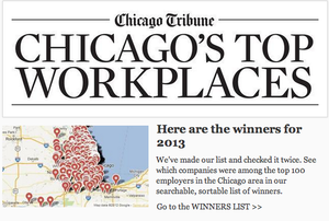top-workplaces-chicago-tribune-2013-charles-rutenberg-baird-warner-kale-realty-@properties-transwestern-jones-lang-lasalle-pangea-properties-guaranteed-rate