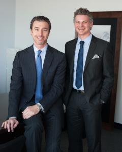 Brett Lotsoff and Jorden Brok, Mortgage Master Northbrook co-managers.