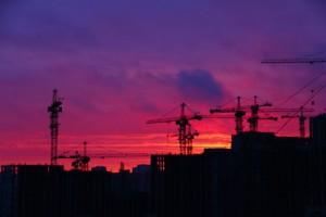 Construction-Sunset