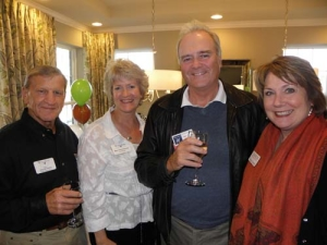 Dale Showalter (Showalter Roofing Service), Mary Carol Deveney (Wheaton Chamber of Commerce), Robert Haeger (Williams Manny DBA Langan Haeger Vincent and Born), Vickie Austin (CHOICES Worldwide)