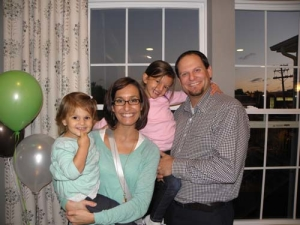 Hannah, Therese, Emily and Brian Wojcik