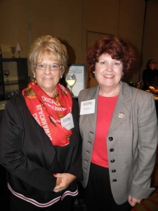 Lynn Madison and Pam Krieter