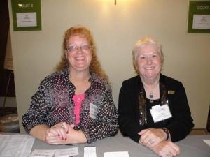 Linda Dressler and Sue Strang
