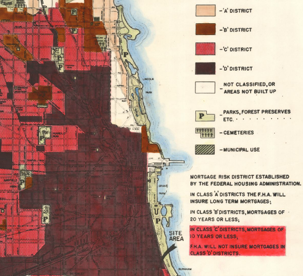 redlining-chicago-map-fha