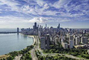 chicago-skyline-summer-hancock-lake-michigan