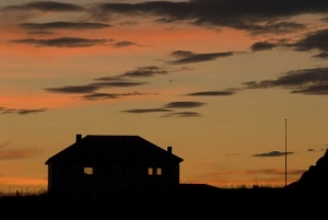 house-home-sunset