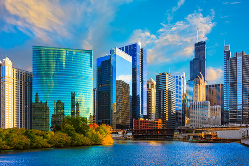 chicago-river-loop-downtown-skyline
