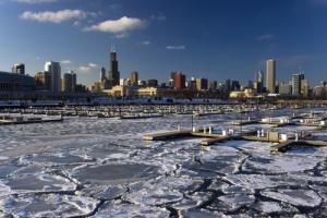 chicago-skyline-homes-housing-winter-lake-michigan-ice-snow