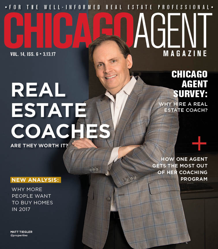 Chicago Agent Magazine - The Real Estate Coaching Issue