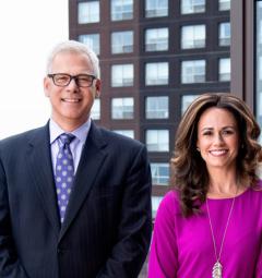 Heidi Ziomek & Marty Walsh