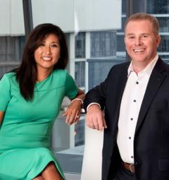 Jenny Lim-Spiggos & Pete Mangione