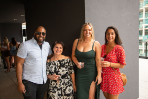 Gordon Agunobi, Lidya Tadros, Natalie Renna and Nadine Tadros