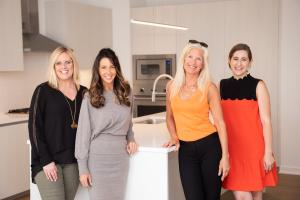 Lisa Long Brown, Carrie McCormick, Ellen Kamp and Llana Steelman