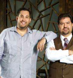 Miguel Salvat and Albert Yabor