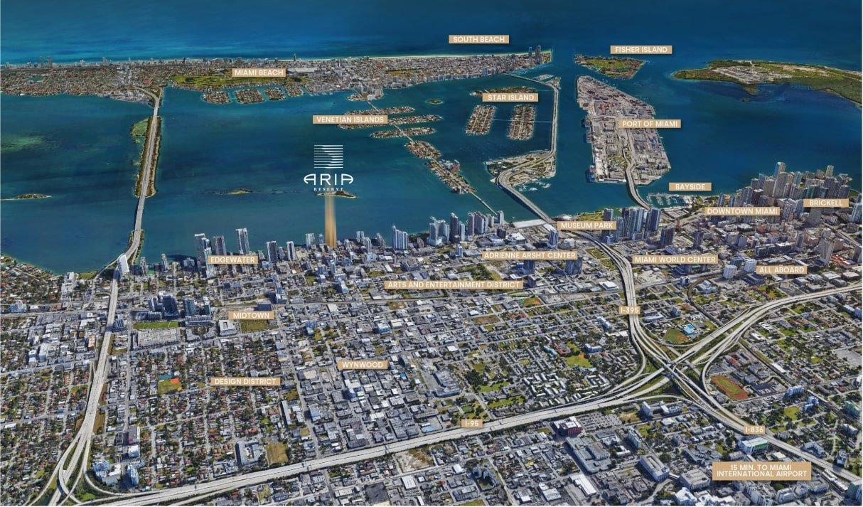 Aria Reserve Miami location