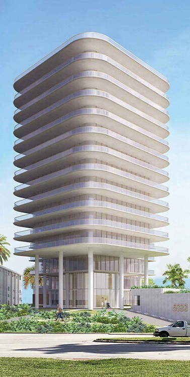 Rem Koolhaas designed proposed condo tower