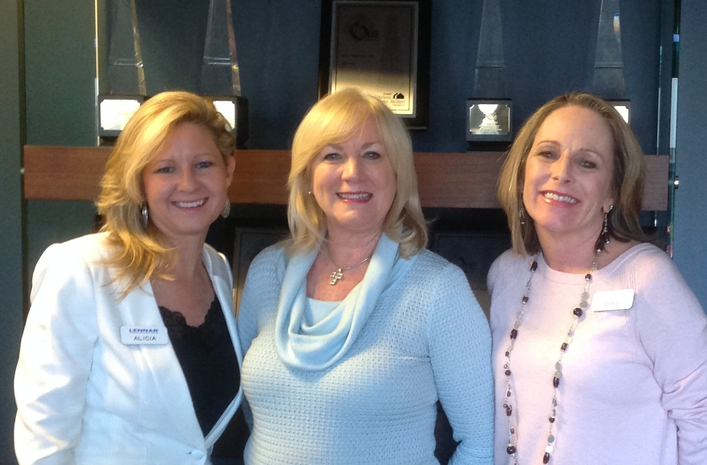 Alicia Sipsy, Donna Brown and Anne Kriebel