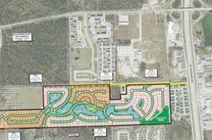 The Forest Building Plan, Courtesy of Gracepoint Homes
