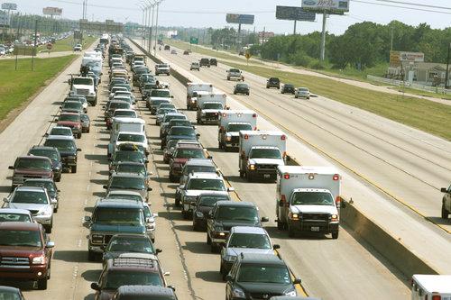 houston-traffic-texas-am-university-commuting-gas-expense